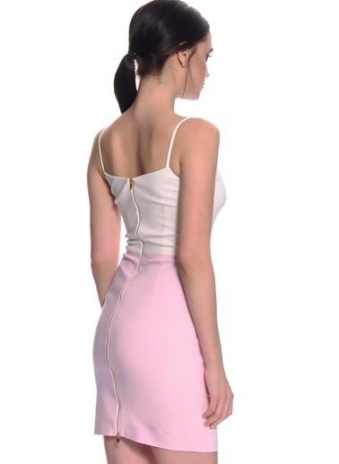 House Of Camellia Elbise Beyaz